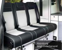 Sovebænk Merc. Vito LR 2015 V3000 størrelse 14 3-personers læder polstring 2 fbg