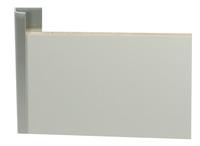 Abschlussprofil Aluminium 3-4mm