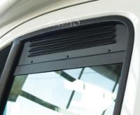 Kabineventilationsgitter: Ventilation til førerhusdøre