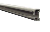 Binario per tende in alluminio naturale 2,60m