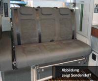 Schlafsitzbank Ford Cutom KR. V3000 Gr.8 3-sitzig Polster Classic grau 2-farbig