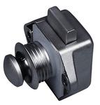 Push Lock Mini - Möbelschloß Silber