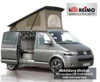 VW T6, T5 estate pop top roof, LWB, Easy-Fit, safety lock, white, front pop up