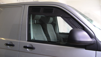 Fahrerhaus Lüftungsgitter T5 und T6: Be- und Entlüftung für Fahrerhaustüren
