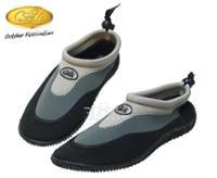 Aqua sko, farve: grå / sort, størrelse 44