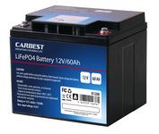 LiFePo4 Batterie, 60 Ah von Carbest