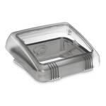 MICRO HEKI 280 x 280 mm, das Dachfenster für Toilettenräume