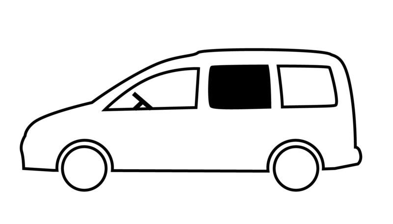 <p> Schuifraam voor VW Caddy Maxi, BJ. 2009-2020 </p>