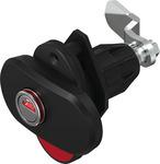 Dreh-Spann-Verschluss Double Red mit zweifachem optischen Öffnungsindikator