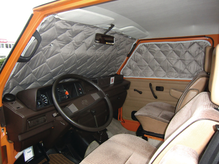 Isoflex Thermomatte førerhus VW-T3 alle modeller fra år 1979-1990
