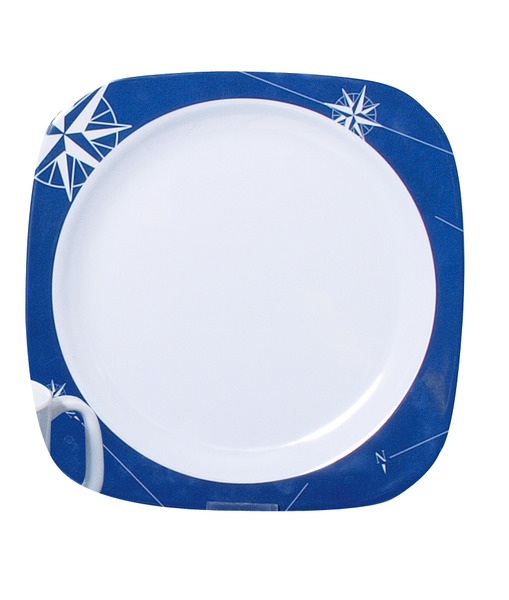 Melamine plate set (Ø 22,5cm) Polarstern, 2 pieces