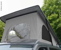 Toit relevable T5 court Easy Fit V-Tec VW T6, toit relevable avant à fermeture