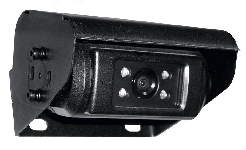 CARBEST ProfiView farve-bakkamera elektrisk svingbart og med el-cover