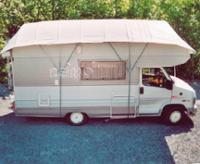 Heckplane zu Dachplane, für Caravan u. Reisemobil als Winterschutz
