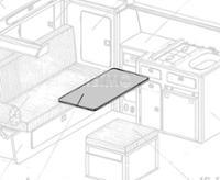 VW T3 drejebord Granitlaminat som et sæt