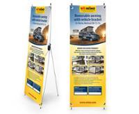 X-Banner Design: T5 Multirail Adapter Thule til køretøjer med venstre kørsel, UK