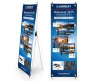 Carbest X-Banner - design: tv, tysk, størrelse: 60x180cm