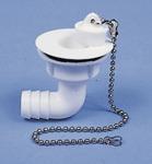 """Wasserablaufgarnitur 90° Schlauch 3/4"""", Ablauföffnung 23 mm, Typ B"""