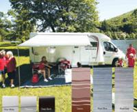 Fiamma F45s wall awning for motorhomes and vans