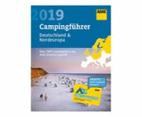 ADAC-Camping Guide 2019 Allemagne + Europe du Nord