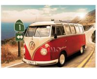 20 Poster VW Collection VW Bus Route 1