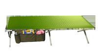 Cot Euphrates luksus aluminium med madras og redskab, 200x81x41 cm