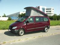 Mercedes Vito pop-up dak, jaar 04-14, compacte uitvoering, front hoog