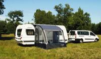 Opblæsbare delvis telt til Caravan Lynx 240
