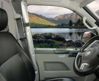 VW T5/VW T6 Seitentürvorhänge für Fahrer- u. Beifahrertüre