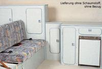 VW T3 møbelpakke Hurtigt kit til selvmontering