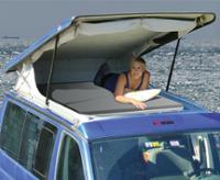 Open Sky Tentdoek, meerprijs voor alle slaapdaken EasyFit T5&T6, kort wielbasis