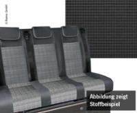 Schlafsitzbank VW T6.1,Trio Style V3000 Gr.10 3-sitzig, Polster Double Grid 2fb.
