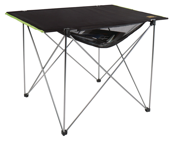Small Camping Table, TUCSON, 57x80cm, aluminium/black
