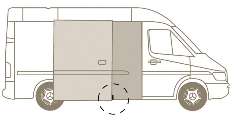 Euro-Türstopper für Kastenwagen