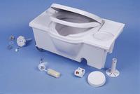 Toilet sæde med låg C2 / 3 Farve: hvid C4