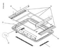 Rollosystem Midi Heki kpl. mit Verdunklung und Fliegenschutz cremeweiß