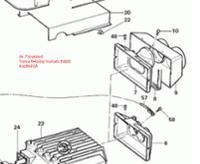 Ersatzteil Truma Heizung Trumatic E4000 Kopfteil EA