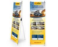 X-Banner Design: T5 Multirail Adapter Thule til højre og venstre-drev køretøjer, engelsk