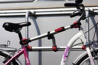 Rail Premium S bicycle rail, silver