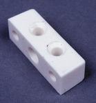 Kvadratisk møbelstik (hvid) 10 stk.