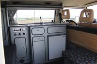 VW T3 Küchenteil (breit) Florida als Bausatz Granitto Schichtstoff