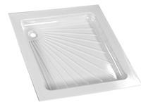 Receveur de douche, 800x800 mm, blanc