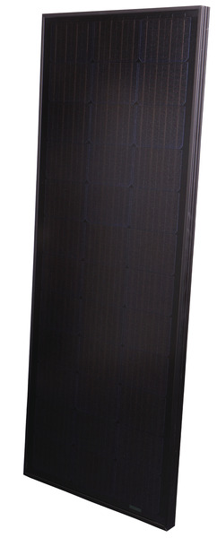 Carbest solcellepanel 100W all-black, 1315x545x35mm