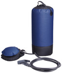 Camping shower with 12l water tank
