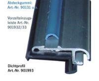 Vorzelteinzugsleiste Aluminium silber, 27x11mm, 3m
