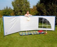 Amrum Luxus Windschutz und Sichtschutz Länge:4,5m