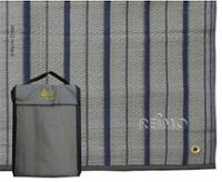 Telt tæppe / forteltmåtte Villa Mat, blågrå, inl.