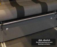 Frontblende Schlafsitzbank Merc.Vito V3000 Gr.17 Weekender Dekor Basalt Montier