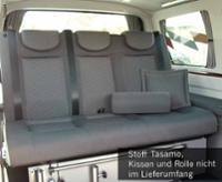 Soveplads VW T5 V3100 Gr.8 stiv 3-seter Betræk Tasamo T5 2-farvet