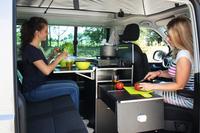 Calicook køkkenmodul for VW T5/T6 California Beach